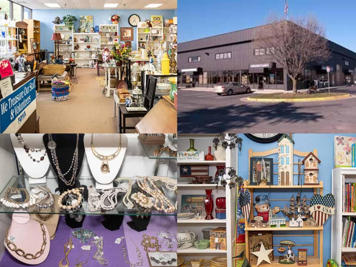 Treasure Hound Resale Shop Interior