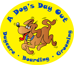 Logo: A Dog's Day Out | Daycare * Boarding * Grooming